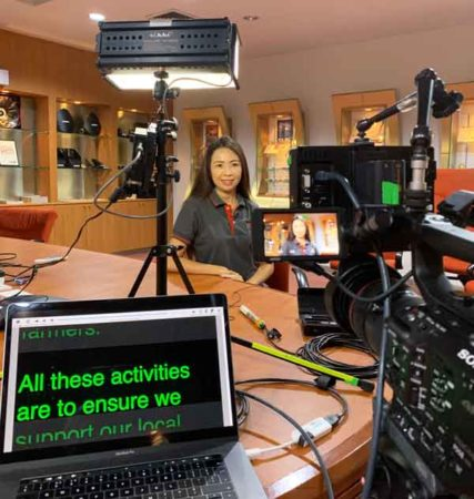 Autocue / Teleprompter : making life easier