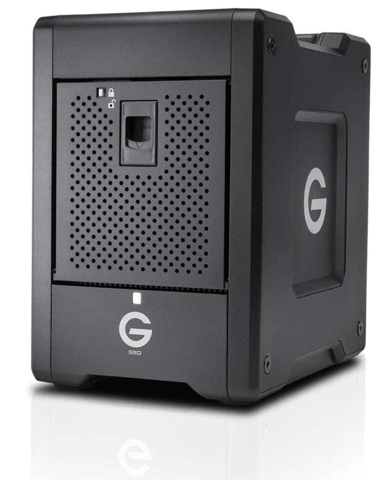 G-Technology 24 TB G-SPEED Shuttle SSD 8-Bay Transportable RAID Storage with Thunderbolt 3